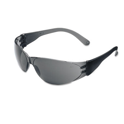 Crews® Checklite® Safety Glasses Gray Lens Safety Glasses-Wraparound - Office Ready