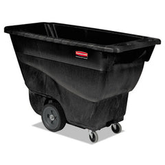 Rubbermaid® Commercial Structural Foam Tilt Truck Rectangular, 450 lb. Cap., Black