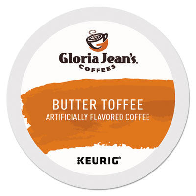 Gloria Jean's® Butter Toffee Coffee K-Cups®, 24/Box