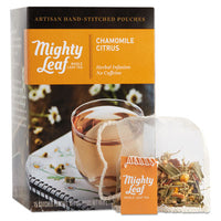 Mighty Leaf® Tea Whole Leaf Tea Pouches, Chamomile Citrus, 15/Box Beverages-Tea, Packet - Office Ready