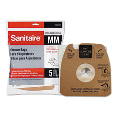 Sanitaire® Disposable Dust Bags With Allergen Filtration for Sanitaire® Commercial Canister Vacuums, 5/PK