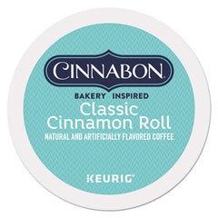 Cinnabon® Classic Cinnamon Roll Coffee K-Cups®, 24/Box