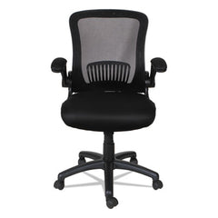 Alera® EB-E Series Swivel/Tilt Mid-Back Mesh Chair, Black