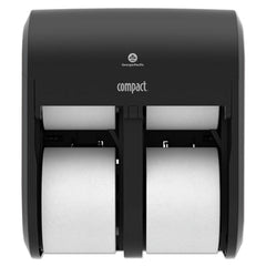 Georgia Pacific® Professional Compact® Quad® Vertical Four Roll Coreless Tissue Dispenser, 11.75 x 13.25