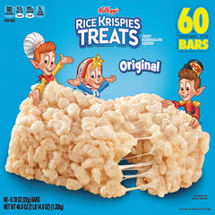 Kellogg's® Rice Krispies® Treats, Original Marshmallow, 0.78oz Pack, 60 Per Carton