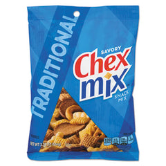 Chex Mix® Varieties, Traditional Flavor Trail Mix, 3.75oz Bag, 8/Box