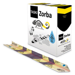 "Diversey™ Zorba® Absorbent Control Strips, 0.5 gal, 4.7"" x 23.6"", 50/Pack"