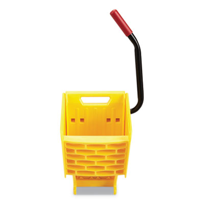 Rubbermaid® Commercial WaveBrake® 2.0 Wringer, Side Press, Plastic, Yellow