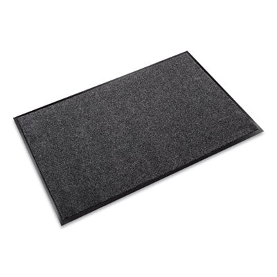 Crown EcoStep™ Wiper Mat, 36 x 120, Charcoal