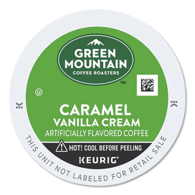 Green Mountain Coffee® Caramel Vanilla Cream Coffee K-Cups®, 24/Box Beverages-Coffee, K-Cup - Office Ready