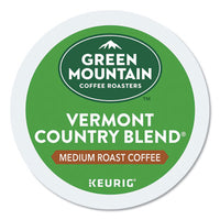 Green Mountain Coffee® Vermont Country Blend® Coffee K-Cups®, 24/Box Beverages-Coffee, K-Cup - Office Ready