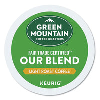 Green Mountain Coffee® Our Blend Coffee K-Cups®, 24/Box Beverages-Coffee, K-Cup - Office Ready