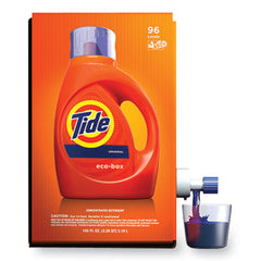 Tide® Eco-Box HE Liquid Laundry Detergent, Tide Original Scent, 105 oz Bag-In-A-Box