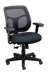 Eurotech Apollo MT9400 Mesh Office Chair Black Fabric Black Mesh