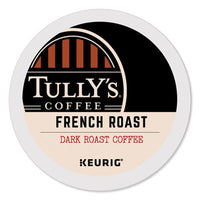 Tully's Coffee® French Roast Coffee K-Cups®, 24/Box Beverages-Coffee, K-Cup - Office Ready