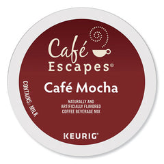 Café Escapes® Café Mocha K-Cups®, 24/Box