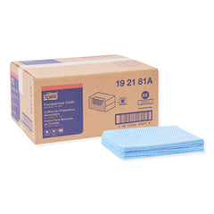 Tork® Foodservice Cloth, 13 x 21, Blue, 240/Box