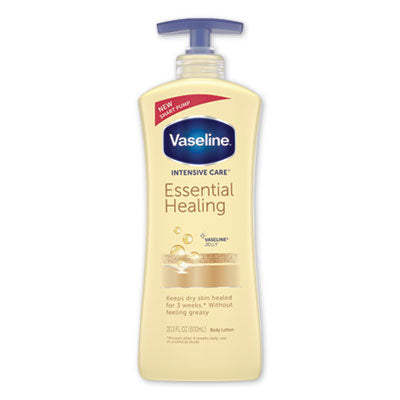 Vaseline® Intensive Care™ Essential Healing Body Lotion, 20.3 oz, Pump Bottle Lotions-Moisturizing Cream - Office Ready