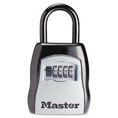 Master Lock® Portable Select Access™ Key Storage Lock 3 1/2w x 1 5/8d x 4h, Black/Silver