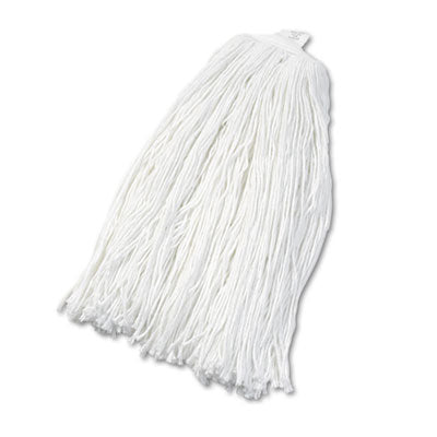 Boardwalk® Cut-End Wet Mop Heads Rayon, No. 32, White, 12/Carton Mop Heads-Wet - Office Ready
