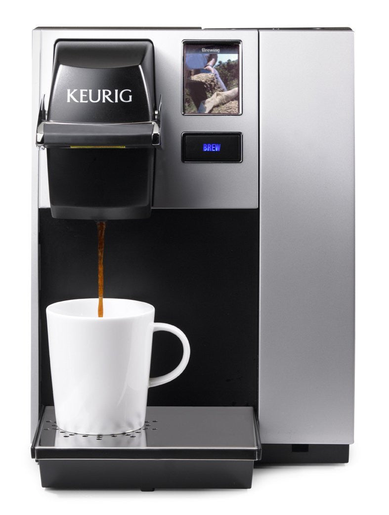 Keurig Brewers - Keurig K150P Commercial Brewing System Pre-assembled for Direct Water Line Plumbing - Office Ready