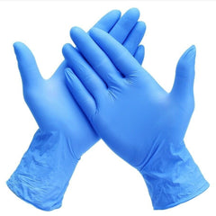 Nitrile Gloves - Powder Free, Disposable, 1000 Gloves Per Case, Medium