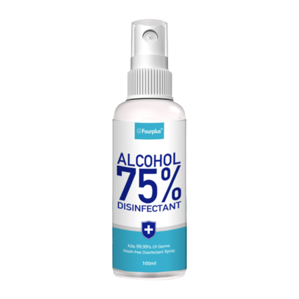 Disinfecting Spray, 75% Alcohol, 3.38oz, 24/ bx