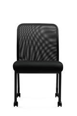 Offices to Go - Armless Mesh Back Guest Chair - OTG11761B
