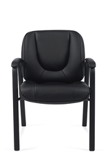 Offices to Go - Luxhide Guest Chair - OTG3915B