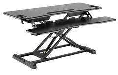 Element Flexus 2 Sit-Stand Workstation, Black