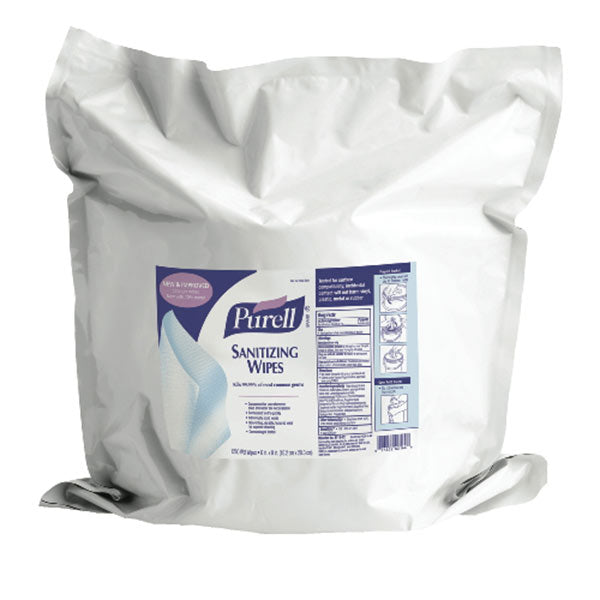 Purell Hand Sanitizing Wipes Refill Pack, 1200 Wipes/PK  - Office Ready
