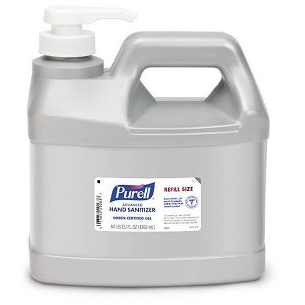 Purell Advanced Hand Sanitizer Gel, 64 oz Refill Size  - Office Ready