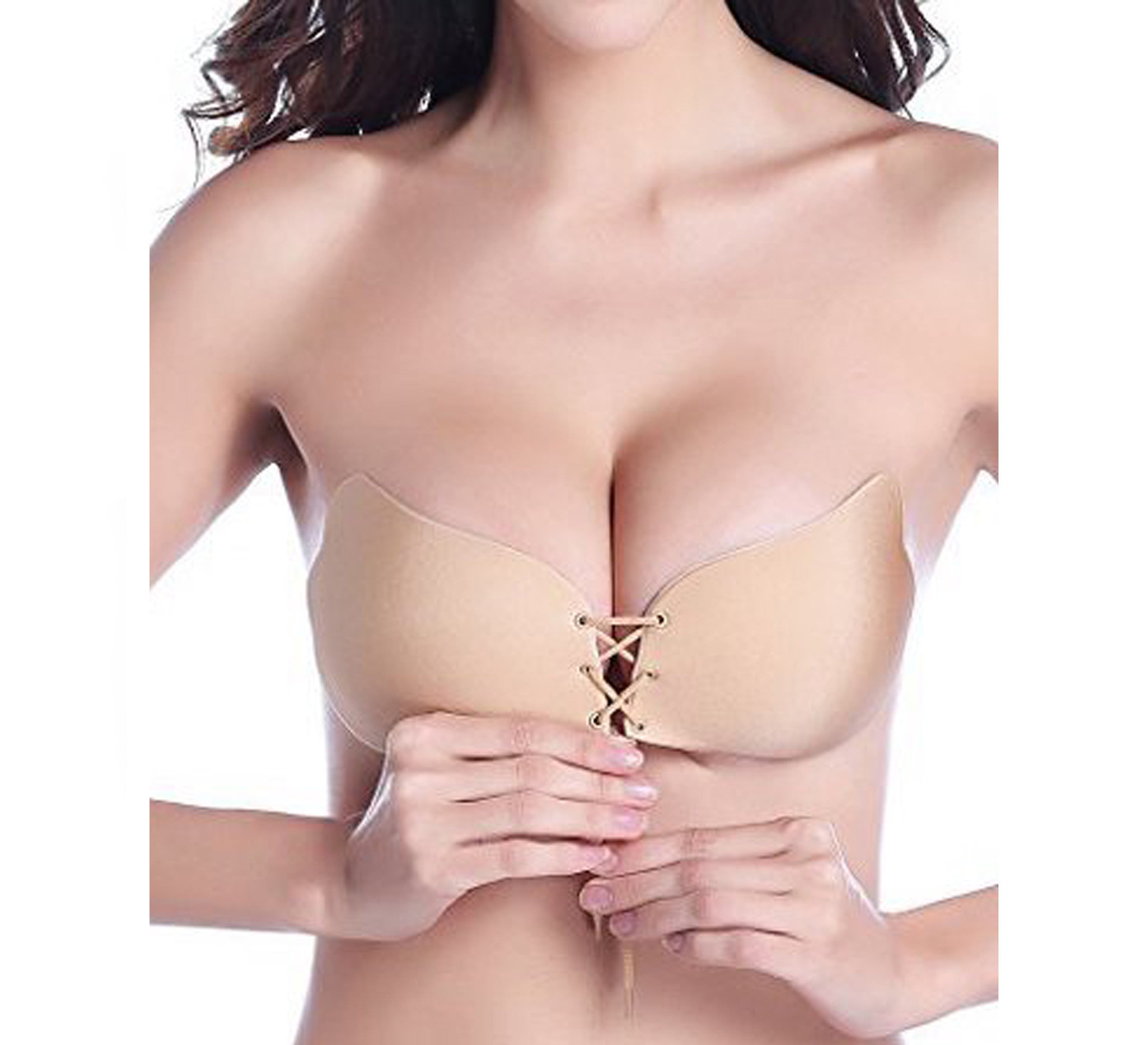 69d83cd4ec4b1 Strapless Drawstring Bra