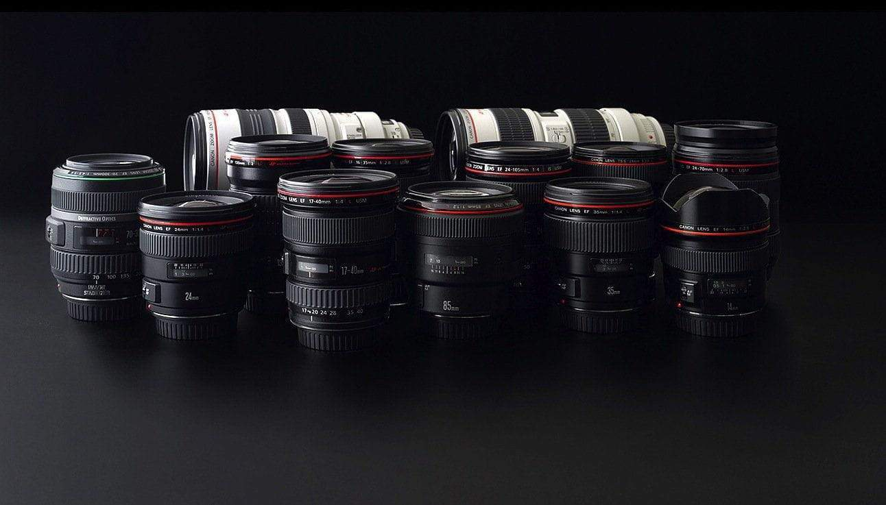 Film Gear's selection of Canon lenses for the discerning photographer