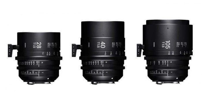 New Additions to Sigma Cine Prime Lens Range
