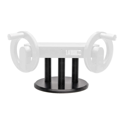 "1A Tools Gimbal Accessories 1A Tools 8"" Base Plate with 4"" Risers for Alpha Wheels"