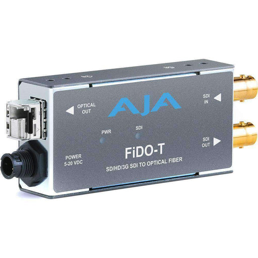 AJA AJA AJA 1-Channel 3G-SDI to Multi-Mode LC Fiber Transmitter
