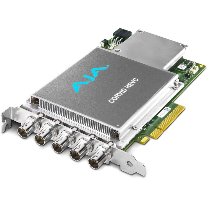 AJA Computer Hardware AJA Corvid 22 PCIe 4x Card for 8/10-bit Uncompressed with 2 Independent Channels I/O Digital 3G, HD, SD-