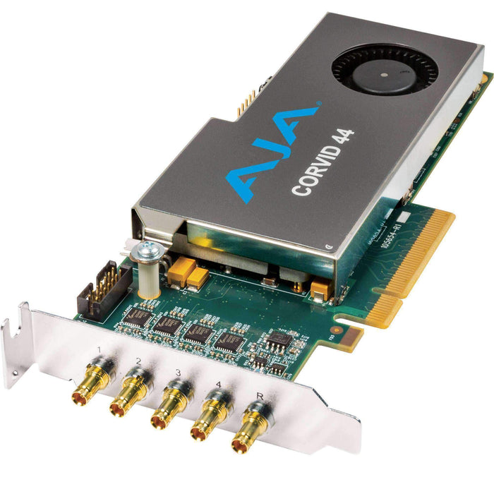 AJA Computer Hardware AJA Corvid 44 Low-Profile 8-Lane PCIe Express Gen 2.0 Card (No Cable)