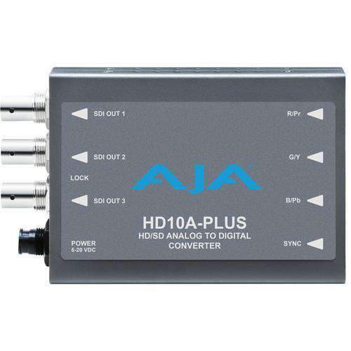 AJA Signal Converters AJA HD10A-Plus Analog to HD/SD-SDI Mini-Converter