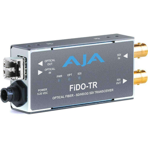 AJA Video Extenders & Repeaters AJA 1-Channel 3G-SDI/LC Multi-Mode LC Fiber Transceiver