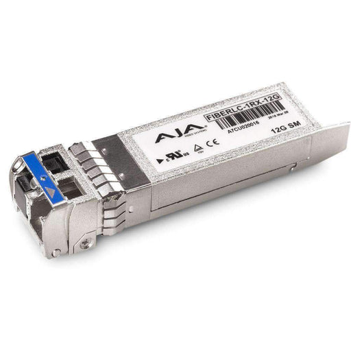 AJA Video Extenders & Repeaters AJA 12G-SDI Single Fiber LC Receiver Single-Mode
