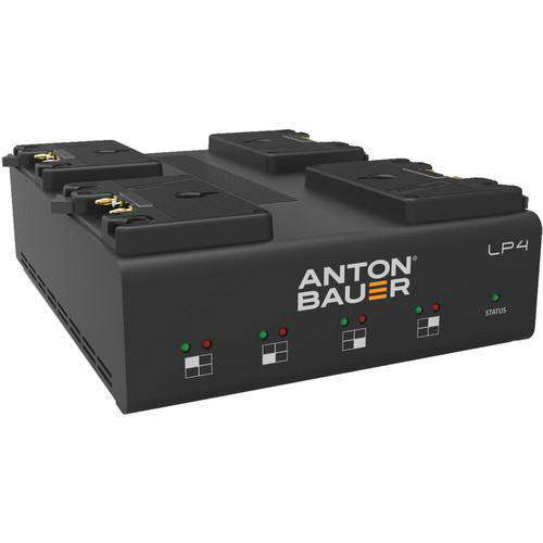 Anton Bauer Anton Bauer Anton Bauer LP4 Quad Gold-Mount Battery Charger