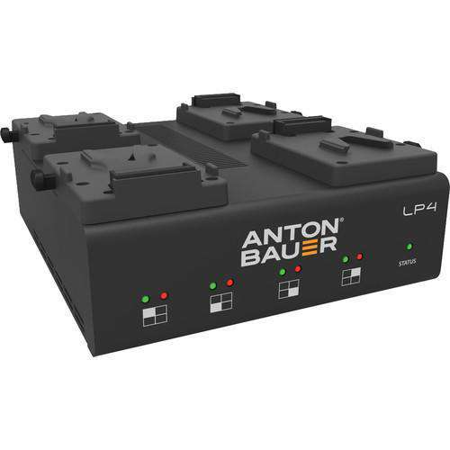 Anton Bauer Anton Bauer Anton Bauer LP4 Quad V-Mount Battery Charger