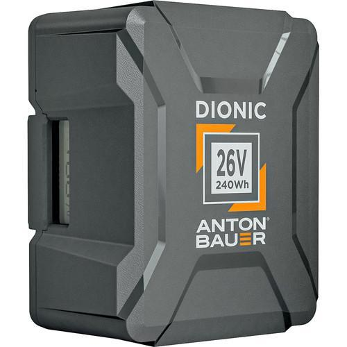 Anton Bauer Batteries & Power Anton Bauer Dionic 240Wh 26V Gold Mount Plus Battery