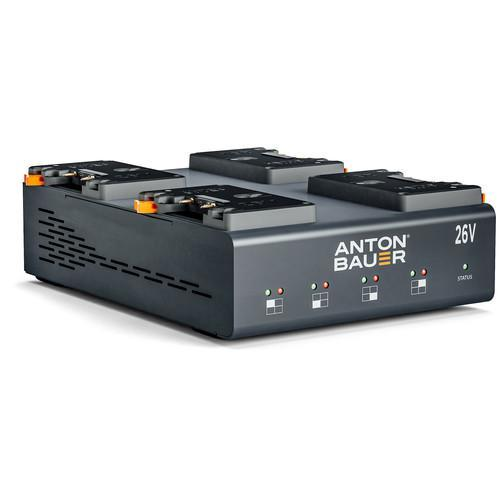 Anton Bauer Batteries & Power Anton Bauer Dionic 26V LP4 Quad Gold Mount Plus Charger
