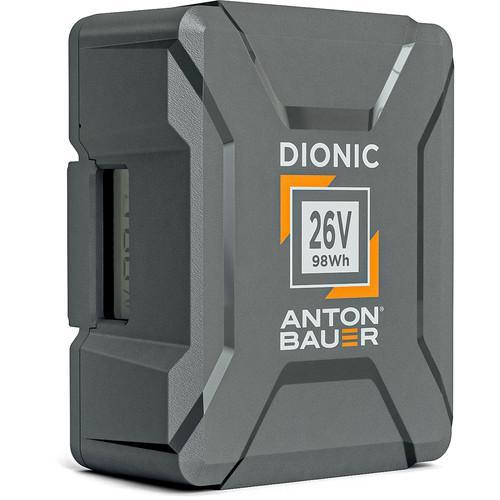 Anton Bauer Batteries & Power Anton Bauer Dionic 98Wh 26V Gold Mount Plus Battery
