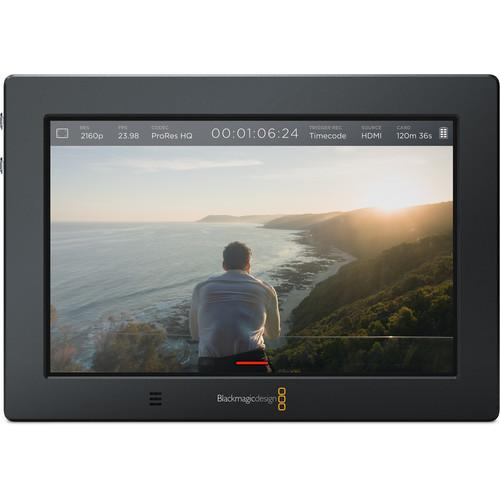 "Blackmagic Design Product Blackmagic Design Video Assist 4K 7"" HDMI/6G-SDI Recording Monitor"
