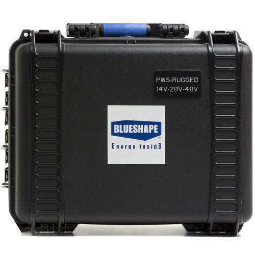 BLUESHAPE Batteries & Power BLUESHAPE Field Gold Mount Battery Power Station with Impact-Resistant Case
