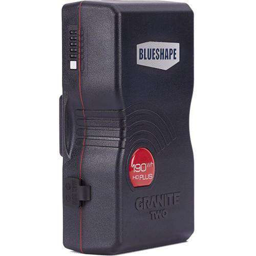 BLUESHAPE BLUESHAPE BLUESHAPE BG190 GRANITE HDplus 193Wh Gold Mount Battery
